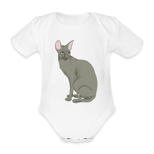 Boby bimbo  - Body ecologico per neonato a manica corta