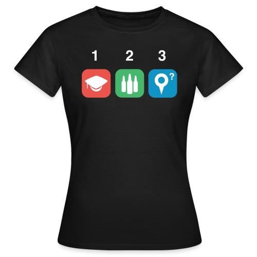 Studenten bier - Vrouwen T-shirt