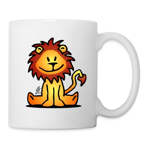 happy lion mug - Mug