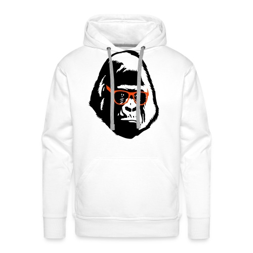 The coolest gorilla Ever !! - Men's Premium Hoodie