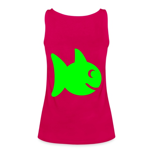 fish loves fish tee - Women's Premium Tank Top