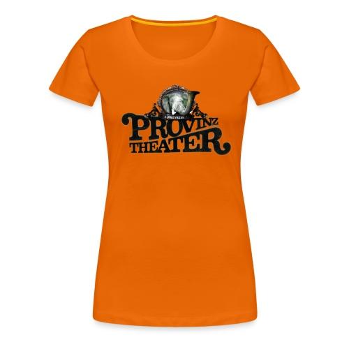 Provinzthater logo - Mädels -farbe - Frauen Premium T-Shirt