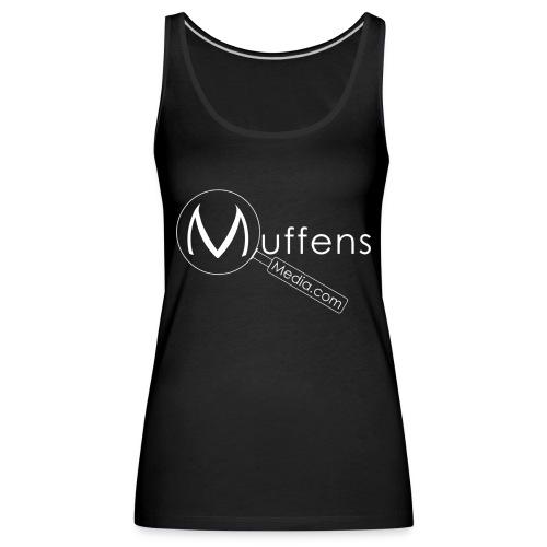 Muffens Media singlet: Black - Women's Premium Tank Top