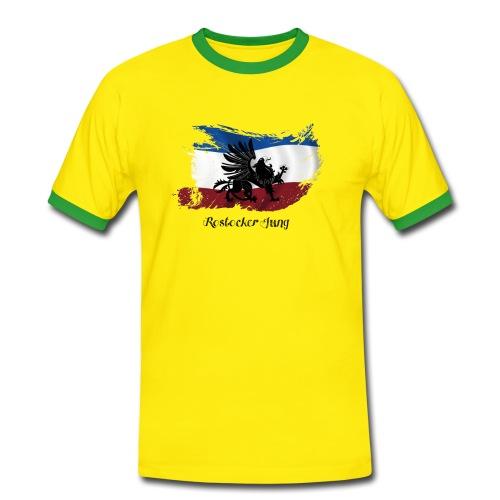 Das Shirt für Brasilien - Männer Kontrast-T-Shirt