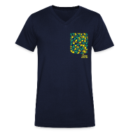 Tee shirts ~ Tee shirt Homme col V ~ Mão Bolso