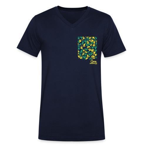 Mão Bolso - T-shirt bio col V Stanley & Stella Homme