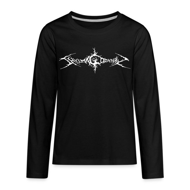 Teenagers' Premium Longsleeve Shirt (FRONT ONLY)