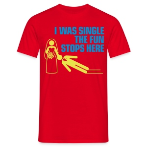 I Was Single - Mannen T-shirt