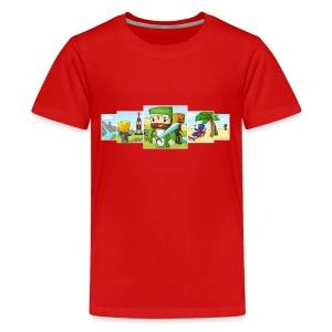 Banner T-Shirt (Teen) - Teenage Premium T-Shirt