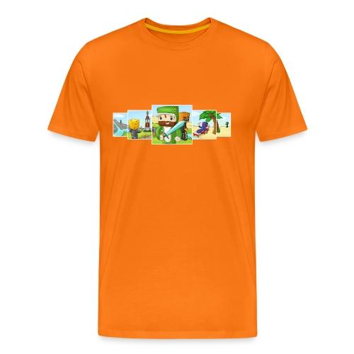 Banner T-Shirt (Gents) - Men's Premium T-Shirt