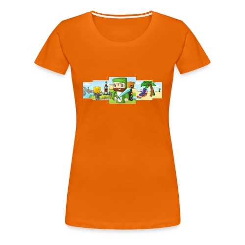 Banner T-Shirt (Ladies) - Women's Premium T-Shirt