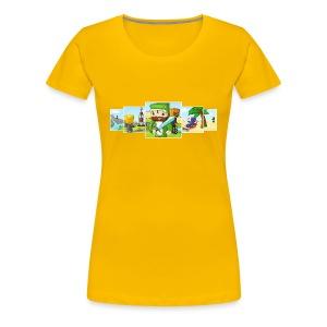 Banner T-Shirt (Ladies) - Women's Premium T-Shirt
