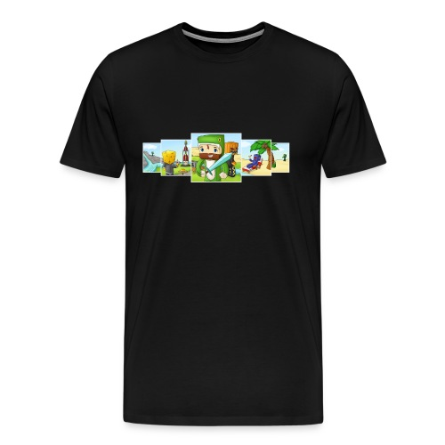 Banner T-Shirt (Mens) - Men's Premium T-Shirt
