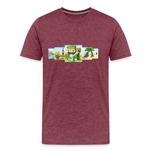 Banner T-Shirt (Mens) - Men's Premium T-Shirt