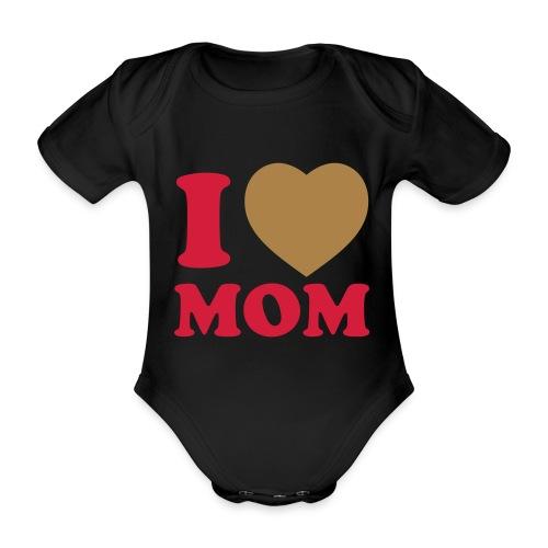 Mameluco Baby - Body orgánico de maga corta para bebé