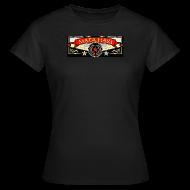 T-Shirts ~ Frauen T-Shirt ~ Mata Hari Stern Girlie