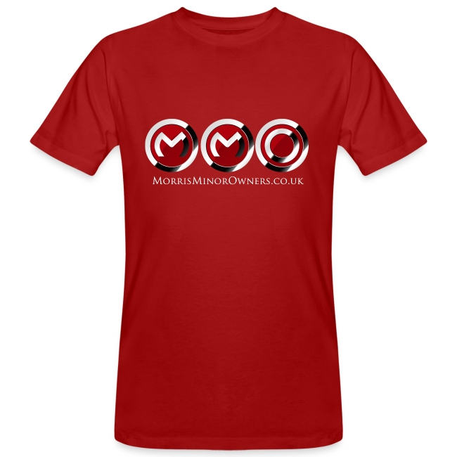 Mens Organic T-Shirt Cranberry