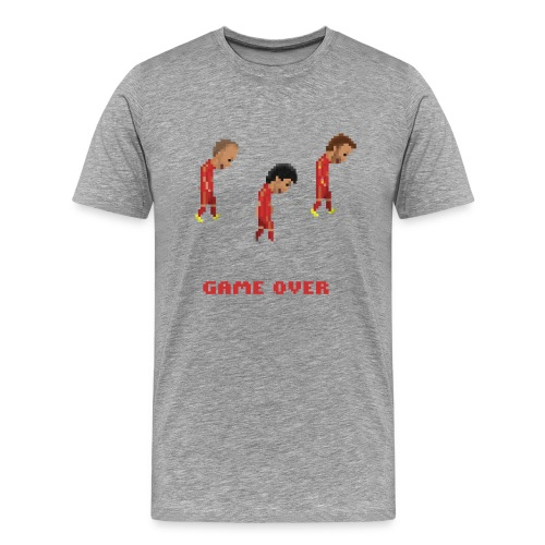 Men T-Shirt - Game over - Men's Premium T-Shirt