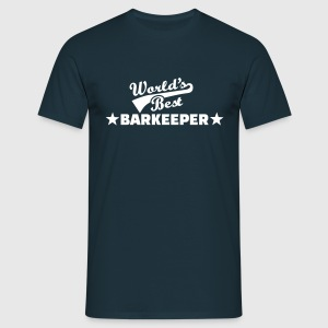 World's best Barkeeper T-Shirts - Männer T-Shirt