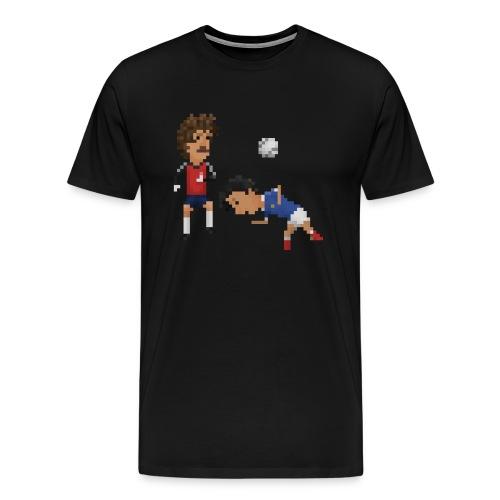 Men T-Shirt - France Germany 82 - Men's Premium T-Shirt