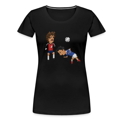 Women T-Shirt - France Germany 82 - Women's Premium T-Shirt