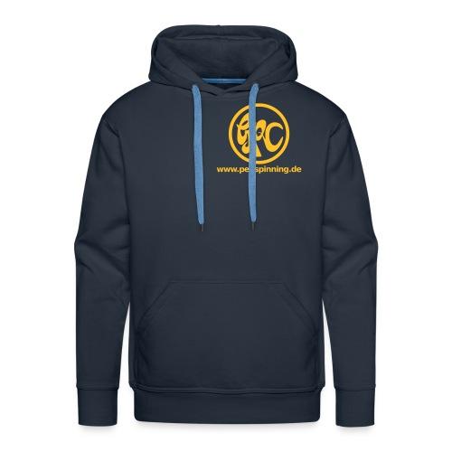 GPC-Pulli (gelbes Logo) - Männer Premium Hoodie