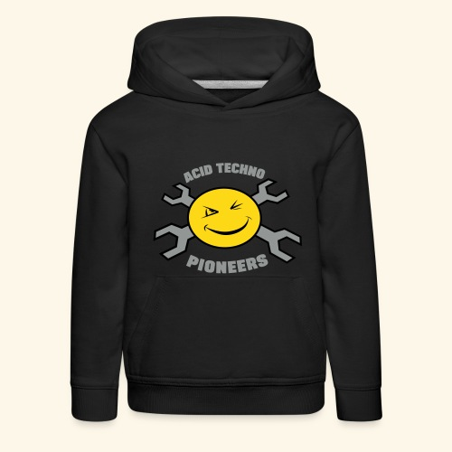 Acid Techno Pioneers Collection Kids' Hoodie - Kids' Premium Hoodie