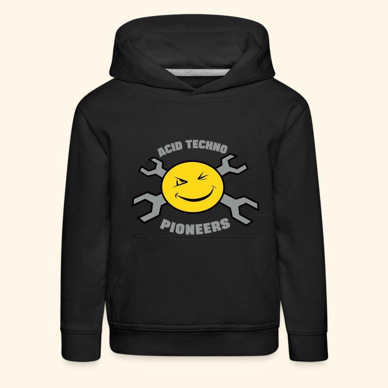 Acid Techno Pioneers Collection Kids' Hoodie - Kids' Premium Hoodie