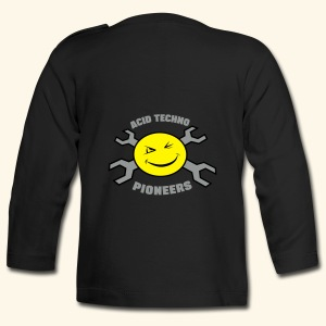 Acid Techno Pioneers Baby Long Sleeve T-Shirt - Baby Long Sleeve T-Shirt