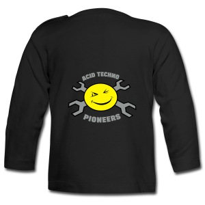 Acid Techno Pioneers Baby Long Sleeve T-Shirt - Baby Long Sleeve T-Shirt