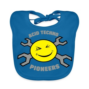 Acid Techno Pioneers Collection Kids' Hoodie - Baby Organic Bib