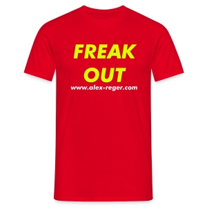 Freak Out Shirt rot - Männer T-Shirt