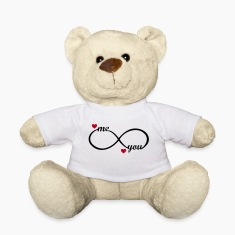 I love you forever  Teddy Bear Toy Valentine's Day