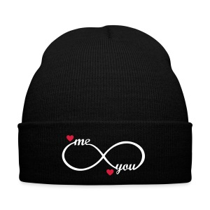 I love you My Boyfriend Girlfriend Me You forever  Caps & Hats - Winter Hat