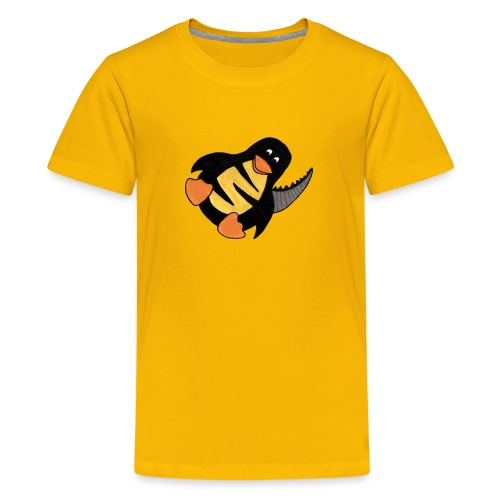Pinguleison Rex with Text for Teens - Teenage Premium T-Shirt