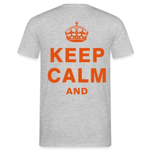 T-shirt KEEP CALM AND TAKE IT EASY - T-shirt Homme
