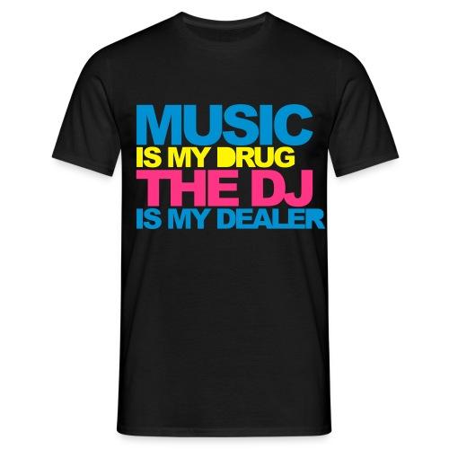 dj dealer - Men's T-Shirt