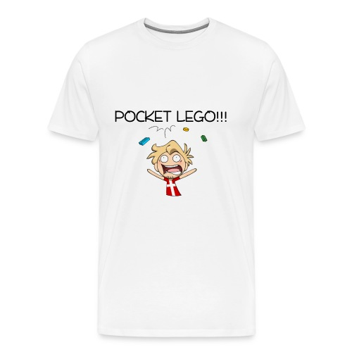 Pocket Lego! - Men's Premium T-Shirt