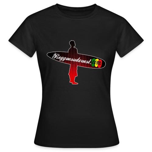 Tshirt Femme RSO Noir - T-shirt Femme