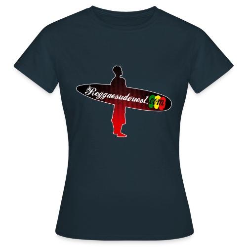 Tshirt Femme RSO Bleu - T-shirt Femme