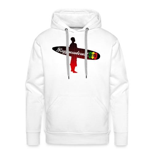 Pull à capuche Blanc RSO - Sweat-shirt à capuche Premium pour hommes