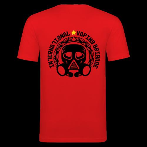 International Vaping Brigade - T-shirt près du corps Homme