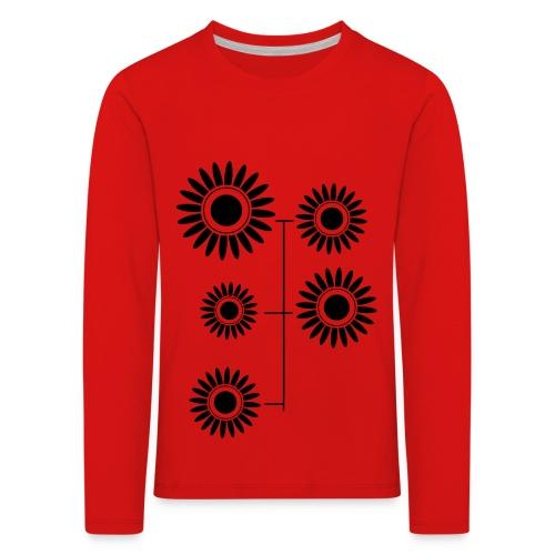 Fleurs Psychédéliques - T-shirt manches longues Premium Enfant