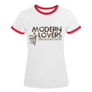 Modern Lovers - Women's Ringer T-Shirt