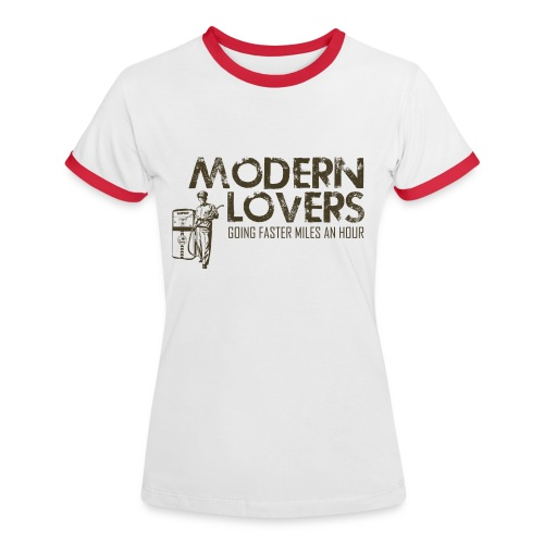 Modern Lovers - Women's Ringer T-Shirt