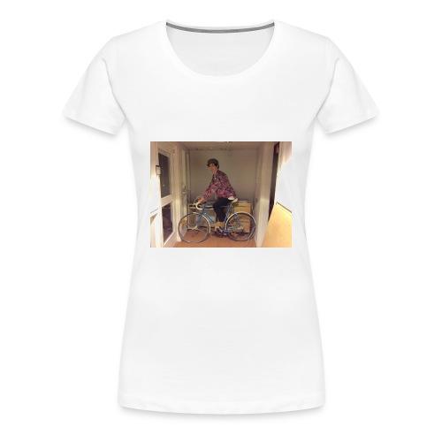 Cykeltröjan - Premium-T-shirt dam
