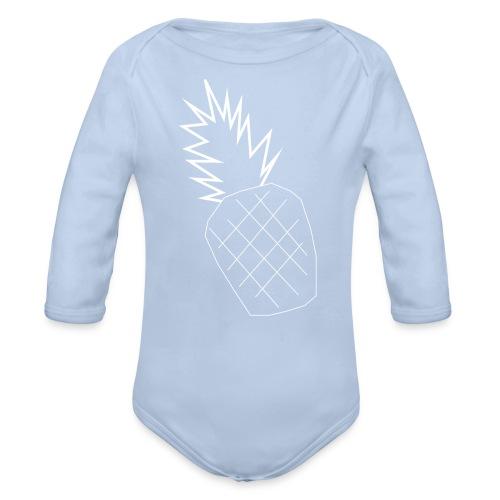 PINEAPPLE BABY - Organic Longsleeve Baby Bodysuit
