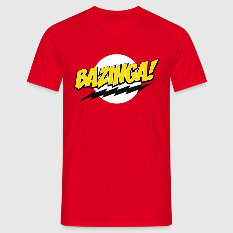 The Big Bang Theory Bazinga! mannen T-shirt - Mannen T-shirt