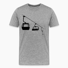 Evolution ski lift T-Shirts