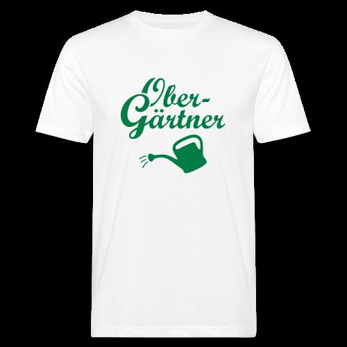 Obergärtner Gießkanne Bio T-Shirt - Männer Bio-T-Shirt